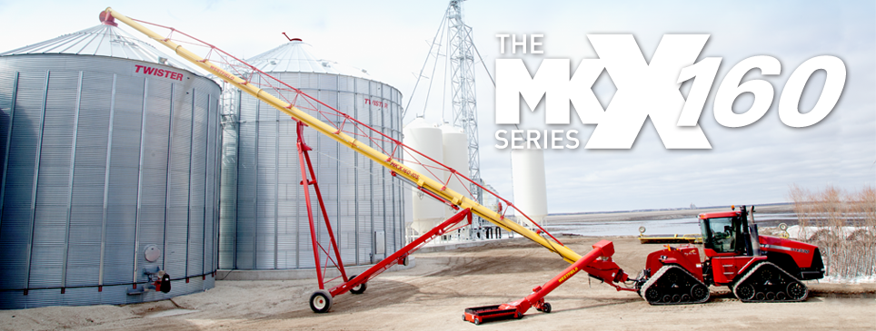 grainaugers com - Products - Grain Augers - MKX160 Series